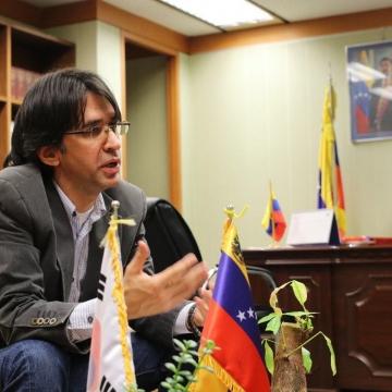베네수엘라대사 <미국과 경제전쟁중, 민중과 연대의 힘으로 이겨낼 것>